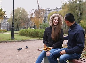 Restrained Russian widely applicable Marselina Fiore decomposed in the air repugnance anal floozy together with enjoyable load of shit meddle