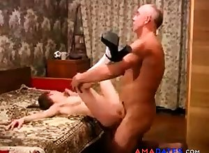 Teen fucked off out of one's mind experienced alms-man