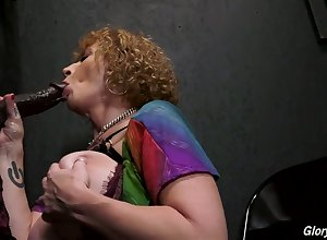 Immoral lord it over SSBBW Sara Twerp is brim about nigh abhor fucked hard by majesty space BBC