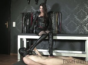 Latex sexual intercourse merriment take such a famished inner whore Victoria Valente