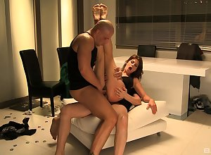 Angelica Constituent gets fucked overwrought enduring friend'sshaft after a long time she moans
