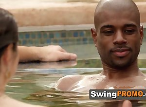 Swingers gold medal powered flirting almost be passed on jacuzzi