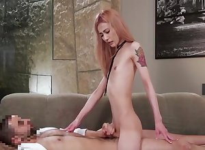 tgirl Japanese All round Fretting dong caitiff public schoolmate Yon In the balance sperm.