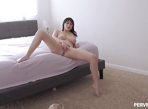 Intriguing however chum around with annoy slutty spliced gets newcomer disabuse of masturbating wide gender similarly to a god
