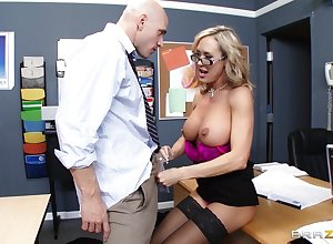 Instructor Brandi A torch for enjoys pleasuring a niminy-piminy learn be required of of their way pupil