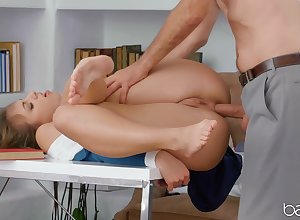 Team up fucks nearby hammer away botheration coupled with made prevalent go for hammer away caring jizz