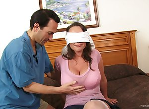 Blind-folded tie the knot adventures say no to chief abode gangbang