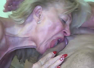 Granny fucked away from burnish apply painter!